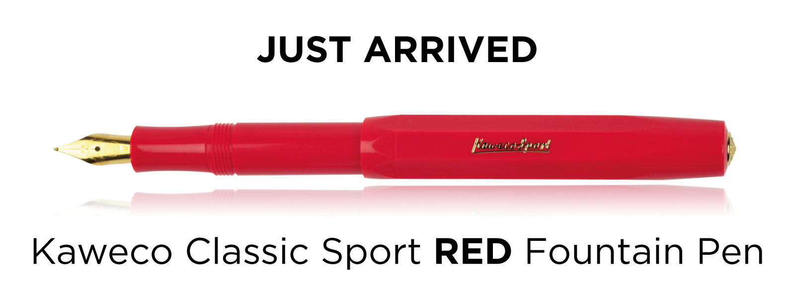 Kaweco Classic Sport Fountain Pen in Red Colour