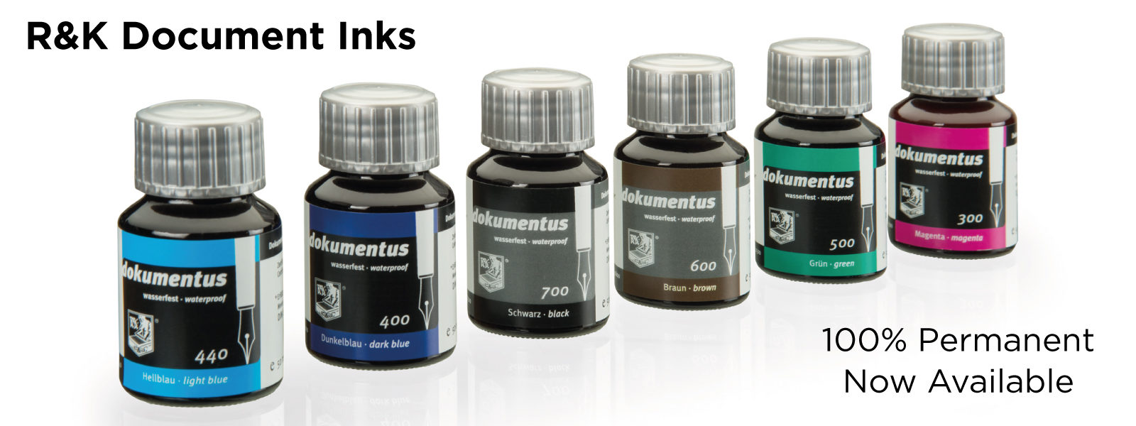 Rohrer & Klingner Document Inks now available at Write Gear