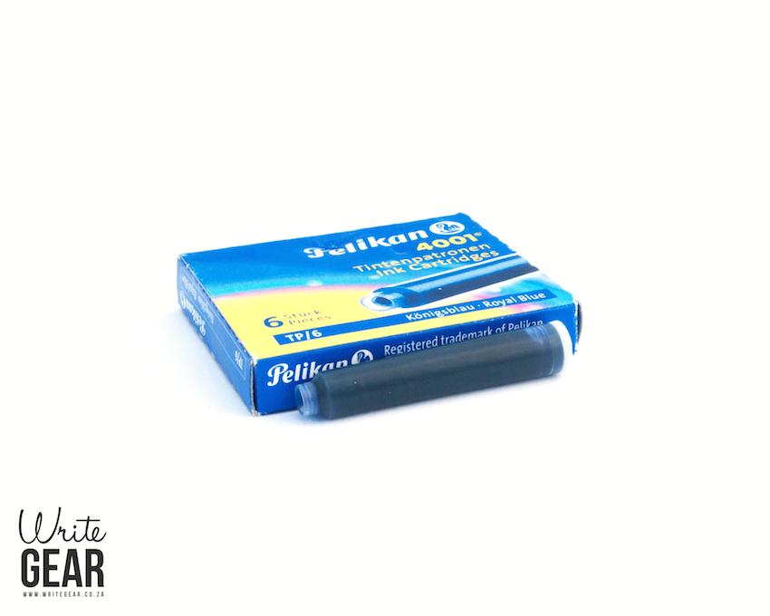 Pelikan Ink Cartridge Box - Blue - Write Gear