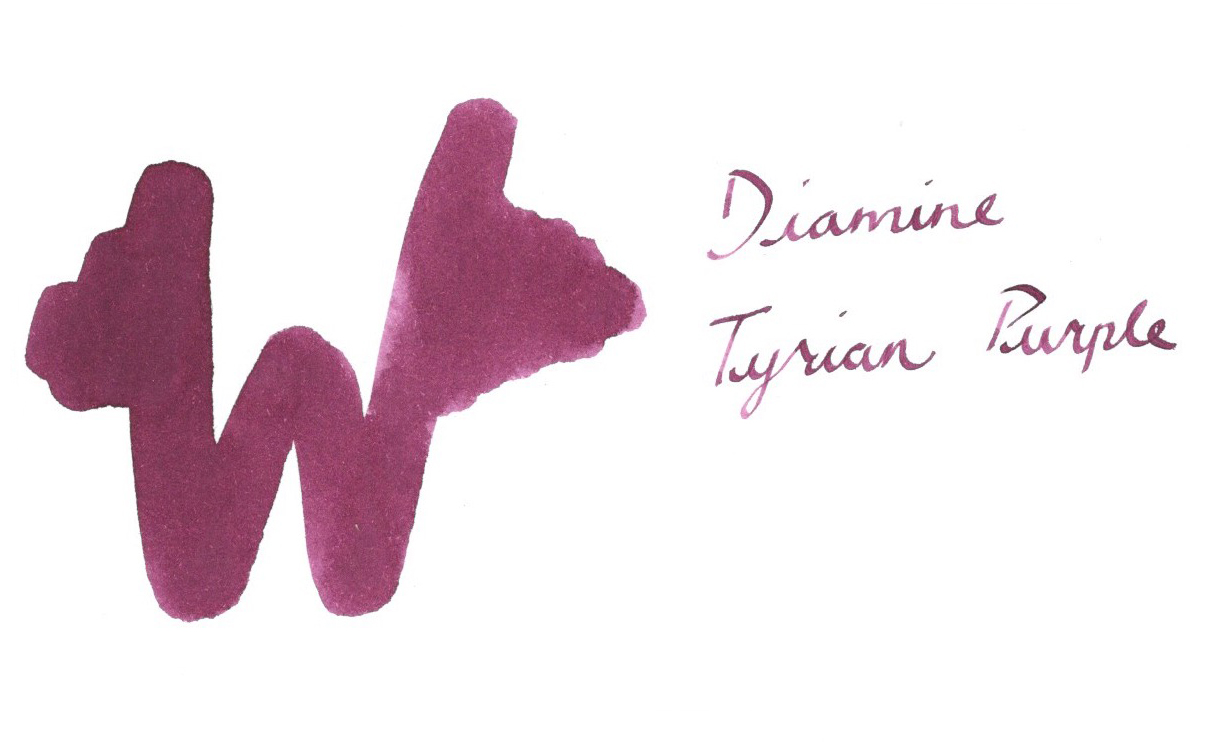 diamine tyrian purple ink diamine collection available online at