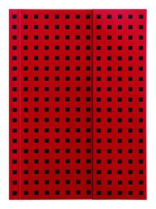 Quadro - Red on Black - B6