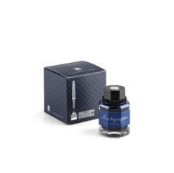 Montegrappa Ink Bottle and Box Blue