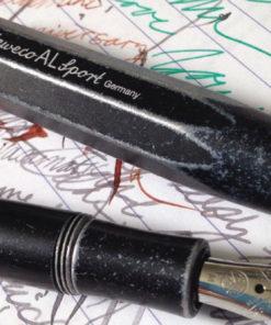 Kaweco AL Sport Fountain Pen - Stonewhashed Black