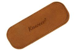 Kaweco Eco Leather Sport Pouch Cognac for 2 Sport Pens