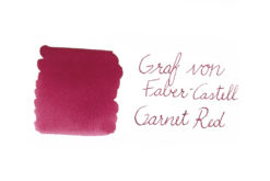 Graf von Faber-Castell fountain pen ink - Garnet Red