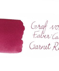 Graf von Faber-Castell fountain pen ink - Garnet Red