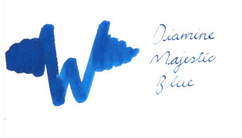 Diamine Majestic Blue Ink