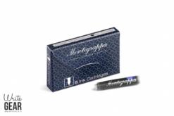Montegrappa ink Cartridge Box Blue