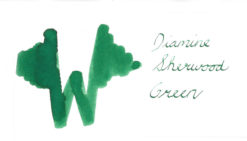 Diamine Sherwood Green Ink