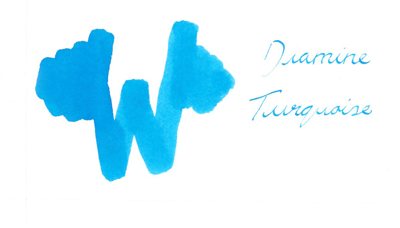 Diamine Turquoise Ink
