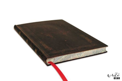 Paperblanks Black Moroccan Bold Midi Lined Flexi Notebook