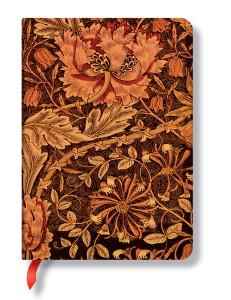 Paperblanks William Morris - Honeysuckle - Midi Lined Notebook