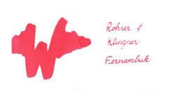 Rohrer and Klingner Ink Fernambuk
