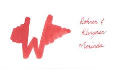 Rohrer and Klingner Ink Morinda