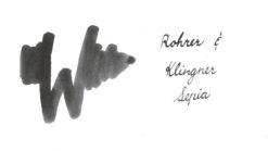 Rohrer and Klingner Ink Sepia