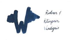 Rohrer and Klingner Ink Verdigris
