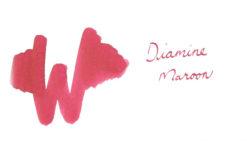 Diamine Maroon Ink