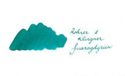 Rohrer & Klingner Fountain Pen Ink - Smaragdgrun