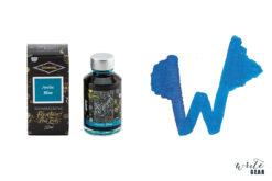 Diamine Shimmertastic Fountain Pen Ink Bottle - Arctic Blue