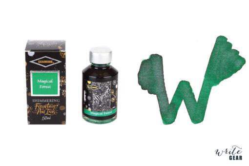 Diamine Shimmertastic Fountain Pen Ink Bottle - Magical Forest