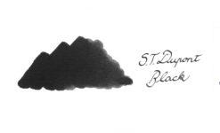 S.T. Du Pont Ink Bottle Black