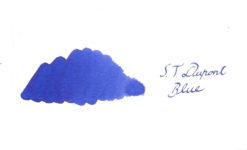 S.T. Du Pont Ink Bottle Blue