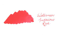 Waterman Fountain Pen Ink - Audacious Red