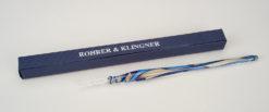 Rohrer and Klingner Glass Dip Pen Blue/Gold