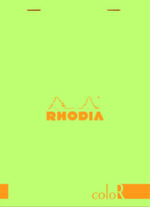 Rhodia Color-R A5 Anise Cover