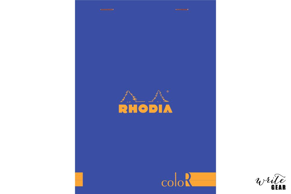 Rhodia Head Stapled - Sapphire