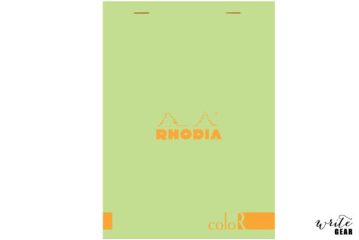 Rhodia Head Stapled Anis Green