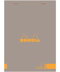 Rhodia Head stapled A5 - Taupe