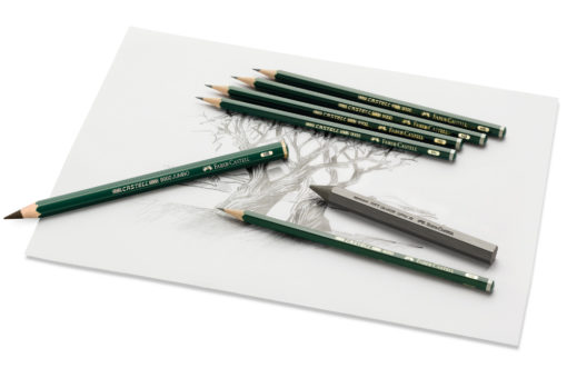 Faber-Castell Graphite Pencil 9000 Soft Image
