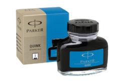 Parker Quink Fountain Pen Ink Bottle Blue