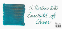 J.Herbin Emeraude de Chivor Ink Swab - 1670 Ink Collection
