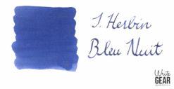 J. Herbin Bleu Nuit Ink Swab