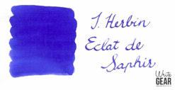 J. Herbin Eclat Saphir Ink Swab
