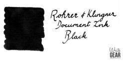 Rohrer & Klingner Document Ink Swab - Black