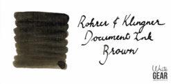 Rohrer & Klingner Document Ink Swab - Brown