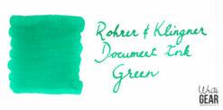 Rohrer & Klingner Document Ink Swab - Green