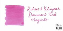 Rohrer & Klingner Document Ink Swab - Magenta