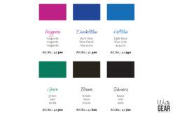 Rohrer & Klingner Document Ink Colour Palette