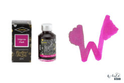 Diamine Shimmertastic Fountain Pen Ink Bottle - Magenta Flash