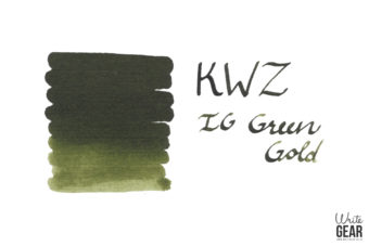 KWZ Ink IG Green Gold