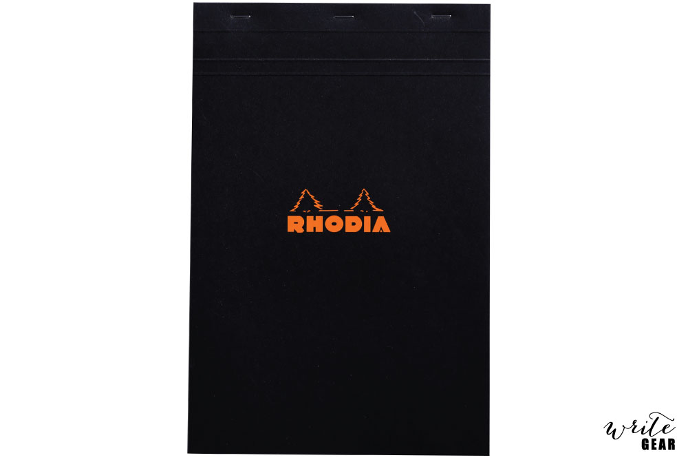 Rhodia Black Blank Pad