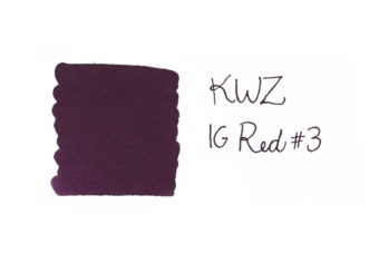 KWZ IG Red fountain pen ink