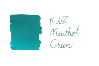 KWZ Fountain Pen Ink - Menthol Green