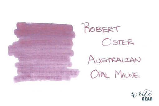 Robert Oster Signature Fountain Pen Ink Australian Opal Mauve
