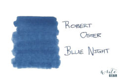 Robert Oster Signature Fountain Pen Ink Blue Night
