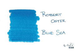 Robert Oster Signature Fountain Pen Ink Blue Sea